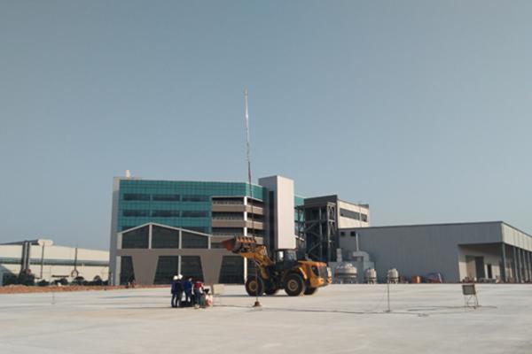 工程机械场外噪音测试区